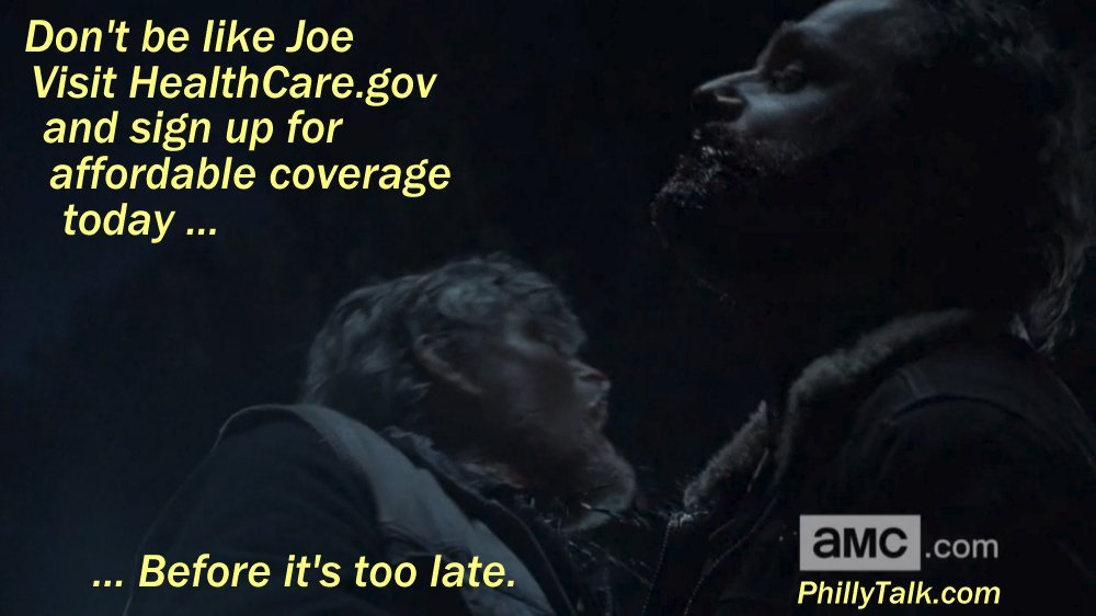 walking dead rick bites joe healthcare dot gov